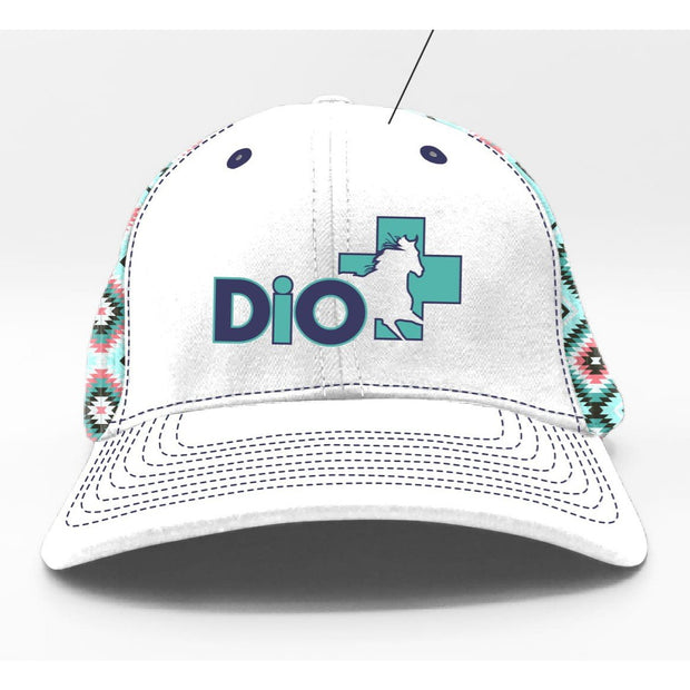 White Unstructured #TeamDiO Hat - DiO Inc