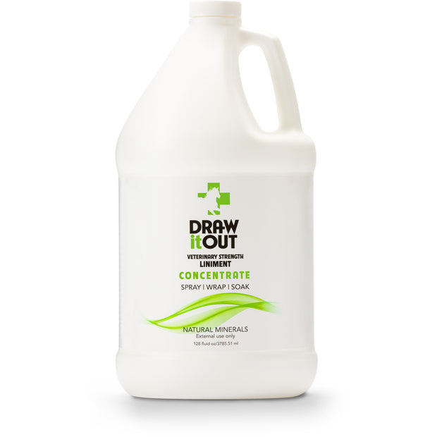 Case of 4 Draw It Out Horse Liniment 128oz Concentrate (472364810277)