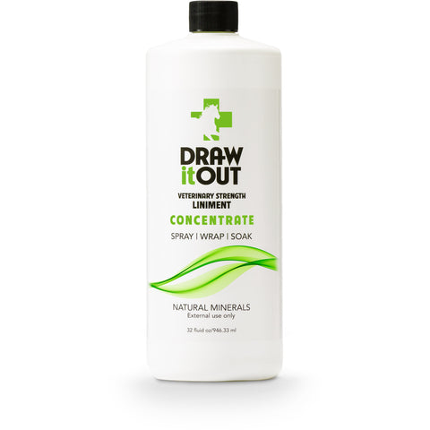 Draw It Out Horse Liniment 32oz Concentrate