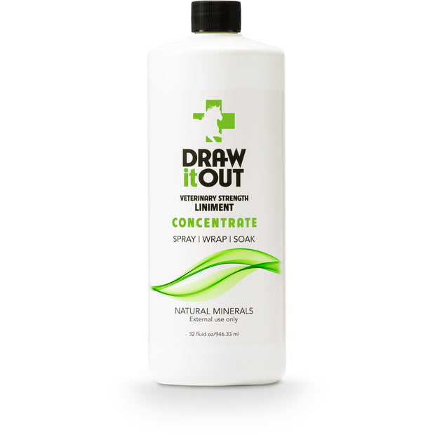 Case of 12 Draw It Out Horse Liniment 32oz Concentrate (472364417061)