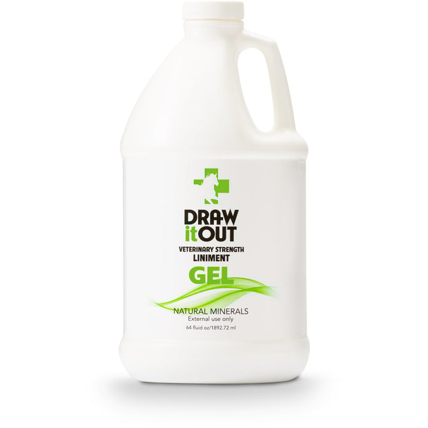 Case of 6 Draw It Out Horse Liniment 64oz Gel (472365203493)