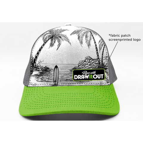 Surf's Up Draw It Out Hat