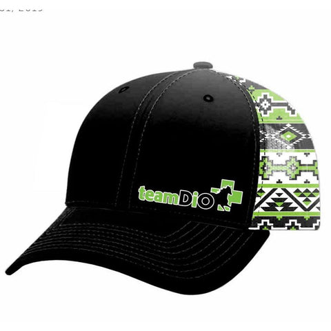 Black & Green #TeamDiO Hat (4364613648436)