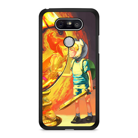 Finn And Flame Princess Love Story Adventure Time LG G5 Case
