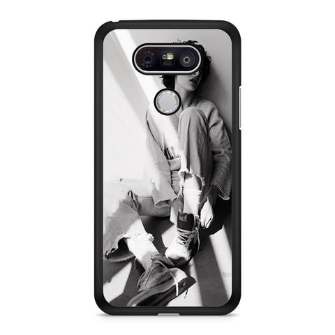 Finn Wolfhard Black And White LG G5 Case