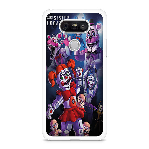 Five Nights At Freddys Sister Location Poster LG G5 Case