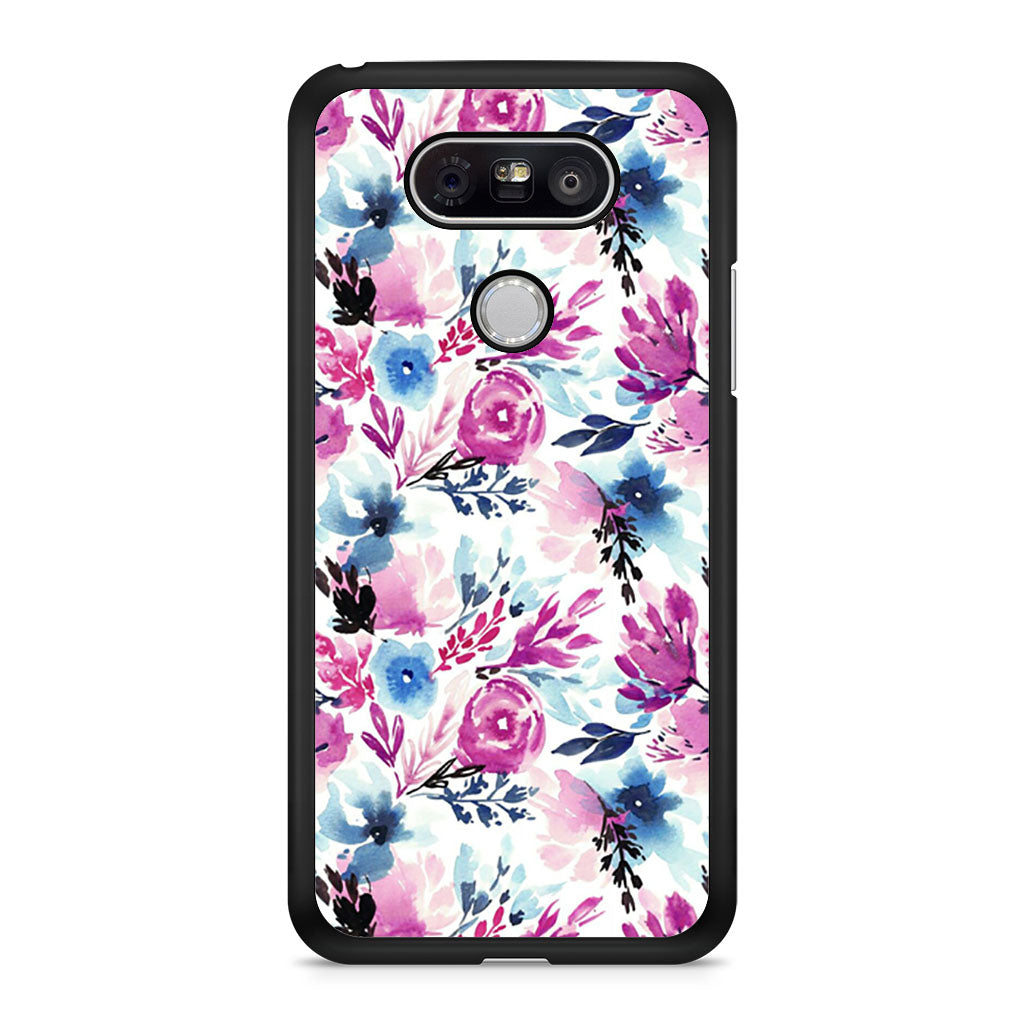 Flowers Watercolor Pattern LG G5 Case