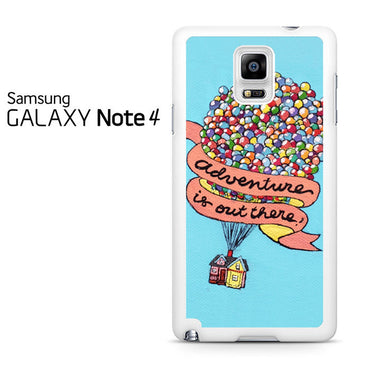 Adventure Is Out There Pixar Disney Galaxy Note 4 Case