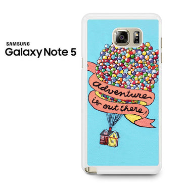 Adventure Is Out There Pixar Disney Galaxy Note 5 Case