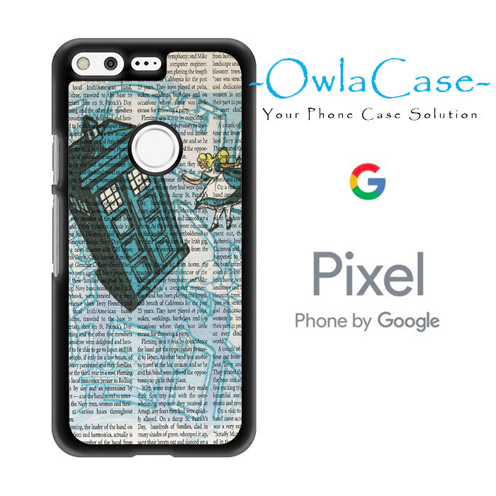 Alice In Wonderland, Tardis Doctor Who Google Pixel Case