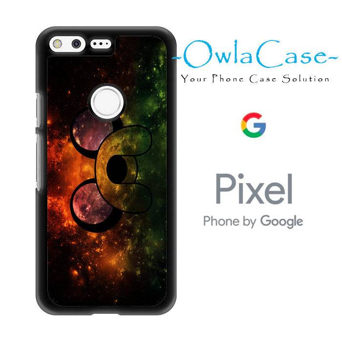 Adventure Time Jake The Dog Face In Galaxy Google Pixel Case