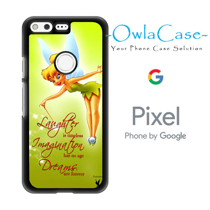 Tinkerbell Quotes Google Pixel Case