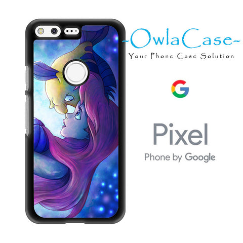 Flounder and Ariel The Little Mermaid Google Pixel Case