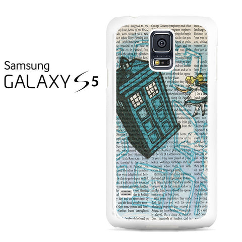 Alice In Wonderland, Tardis Doctor Who Galaxy S5 Case