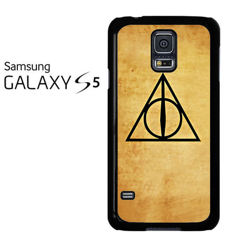 Deathly Hallows Harry Potter Galaxy S5 Case