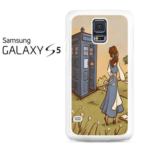 Belle Tardis Galaxy S5 Case