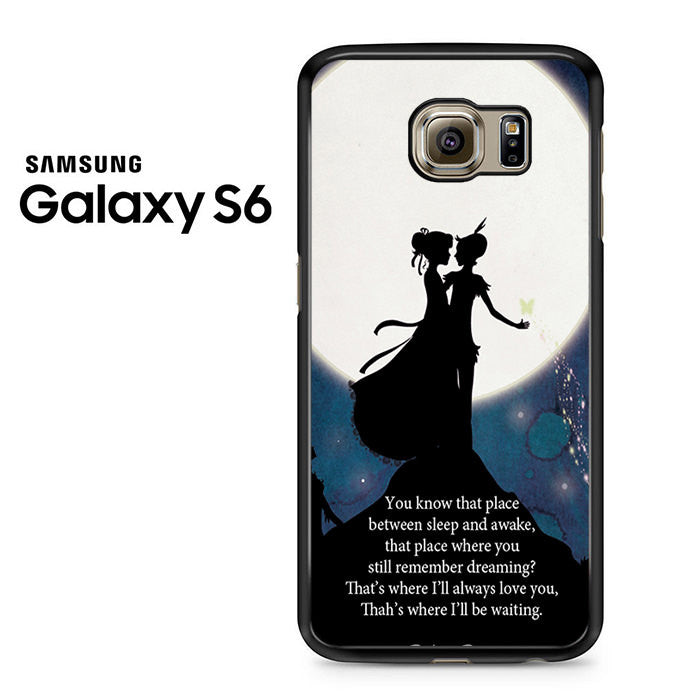 Peter Pan Quote Galaxy Nebula Galaxy S6 Case