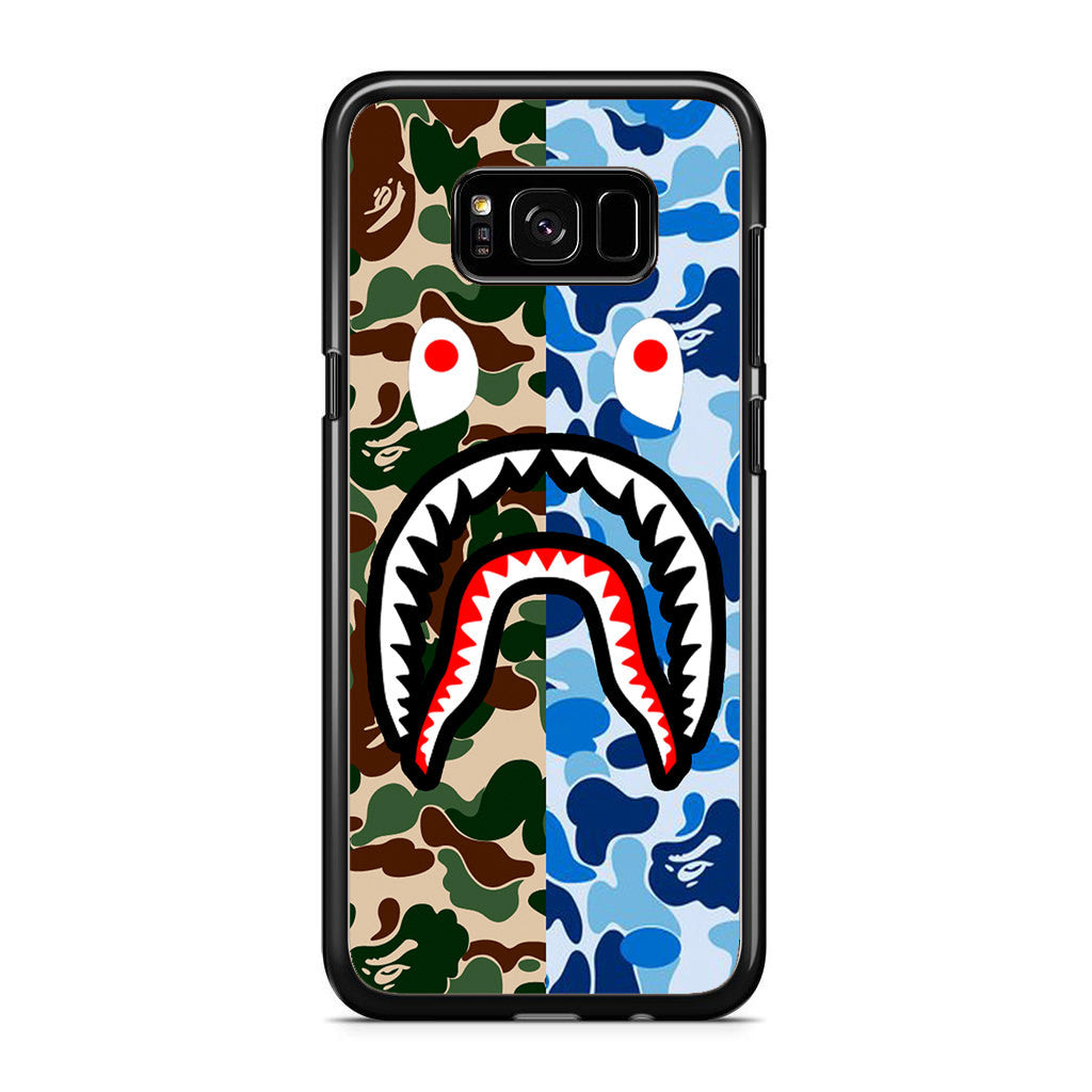 size 40 fd14d e1e3d Bape Shark Samsung Galaxy S8 Plus Case
