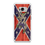 Confederate Flag Samsung Samsung Galaxy S8 Plus Case