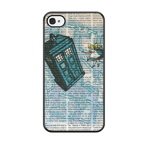 Alice In Wonderland, Tardis Doctor Who Iphone 5C Case
