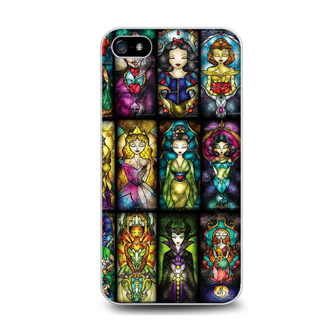 All Princess Disney Stained Glass Iphone 5C Case