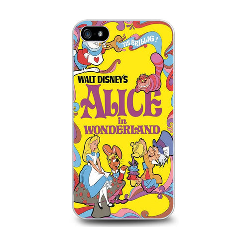 Alice in Wonderland Disney Cover Book Iphone 5C Case