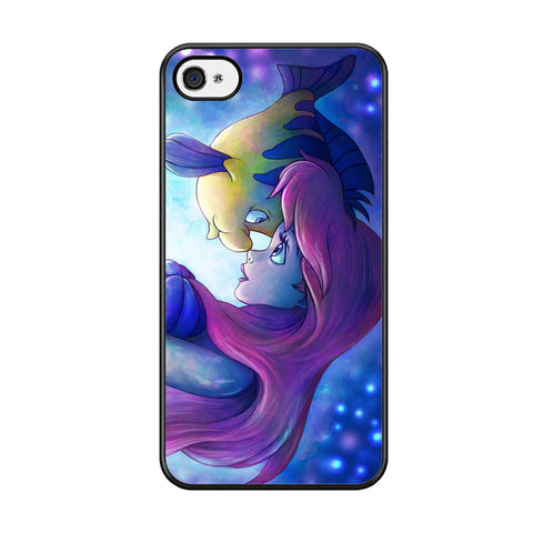 Flounder and Ariel The Little Mermaid Iphone 5C Case