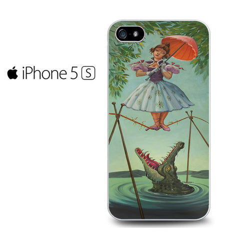 Haunted Mansion Painting Iphone 5 Case
