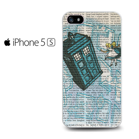 Alice In Wonderland, Tardis Doctor Who Iphone 5 Case