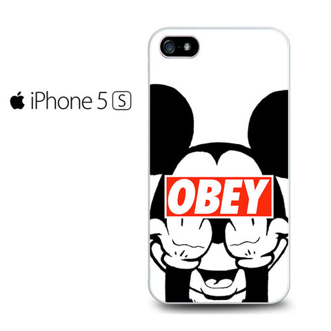 Mickey Obey Style Iphone 5 Case