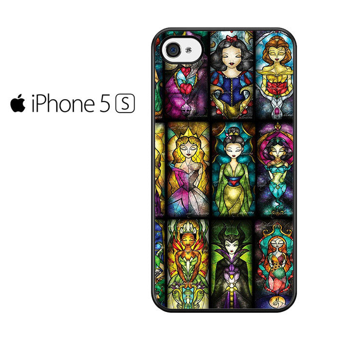 All Princess Disney Stained Glass Iphone 5 Case