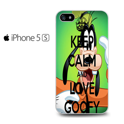 Keep Calm and Love Goofy Iphone 5 Case