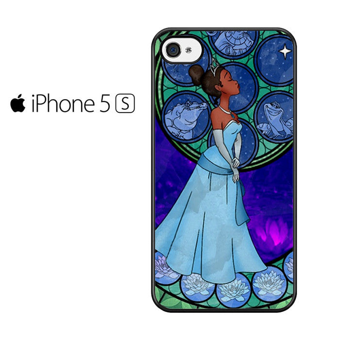 Disney Princess Tiana Stained glass Iphone 5 Case