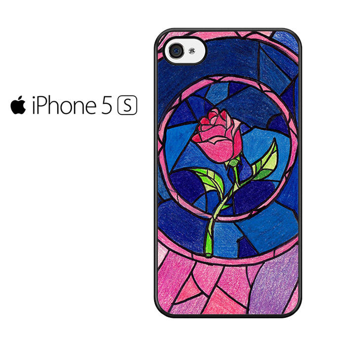 Beauty and The Beast Rose Iphone 5 Case