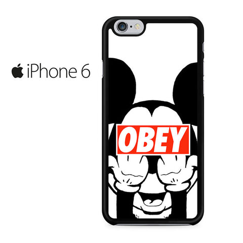 Mickey Obey Style Iphone 6 Case