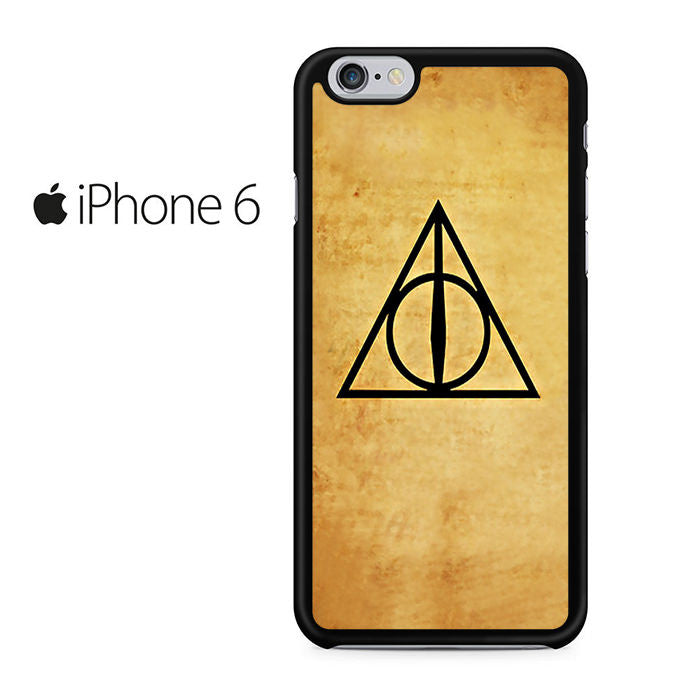 Deathly Hallows Harry Potter Iphone 6 Case