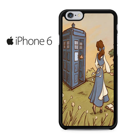 Belle Tardis Iphone 6 Case