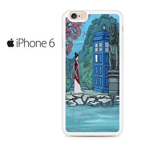 Mulan Meet Tardis Doctor Who Iphone 6 Case