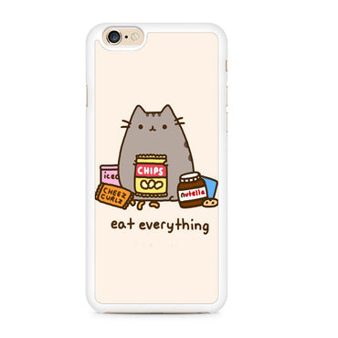 Pusheen The Cat Eat Every Thing Iphone 6 Case