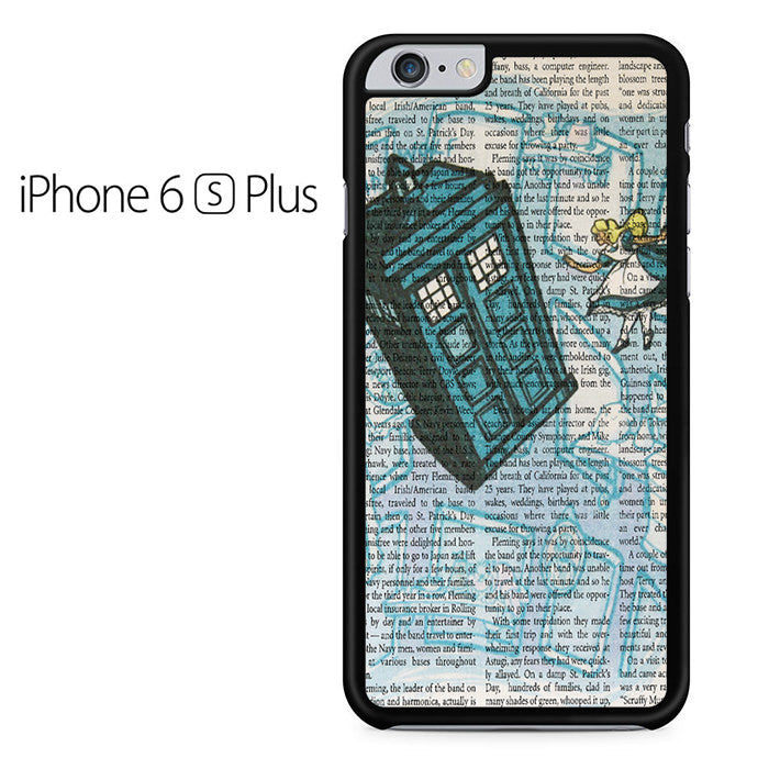 Alice In Wonderland, Tardis Doctor Who Iphone 6 Plus Case