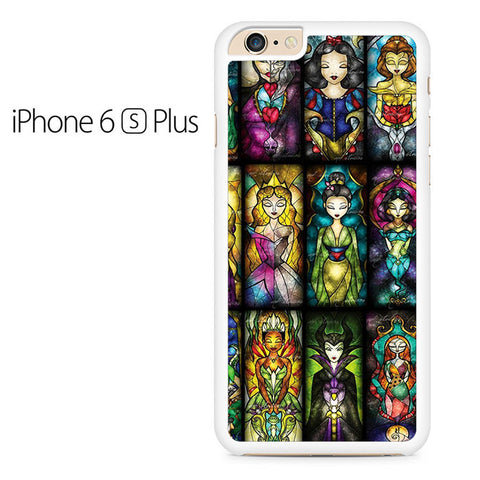 All Princess Disney Stained Glass Iphone 6 Plus Case
