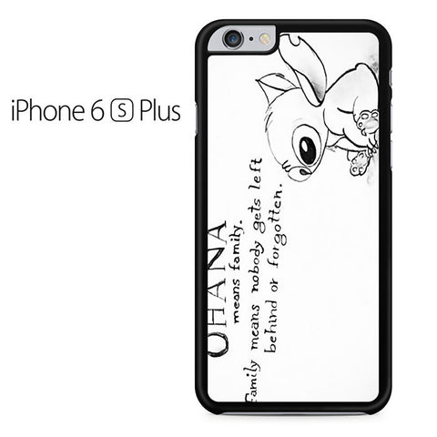Ohana Means Family - Lilo and Stitch Iphone 6 Plus Case