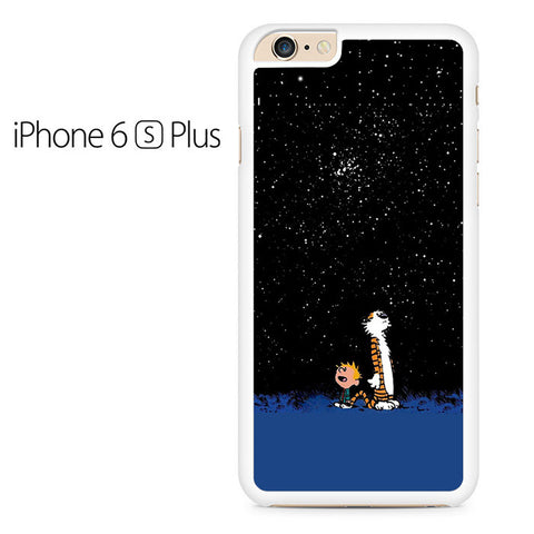Calvin and Hobbes Starry Night Iphone 6 Plus Case