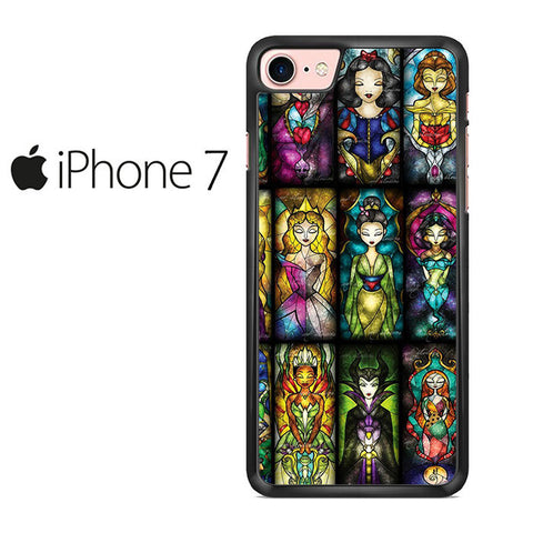All Princess Disney Stained Glass Iphone 7 Case