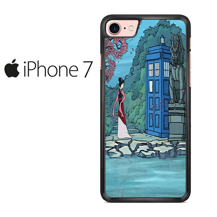 Mulan Meet Tardis Doctor Who Iphone 7 Case