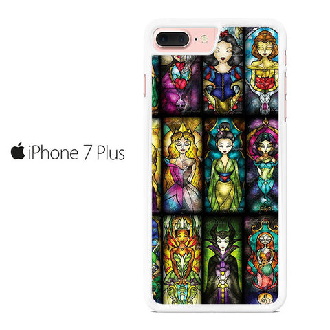 All Princess Disney Stained Glass Iphone 7 Plus Case