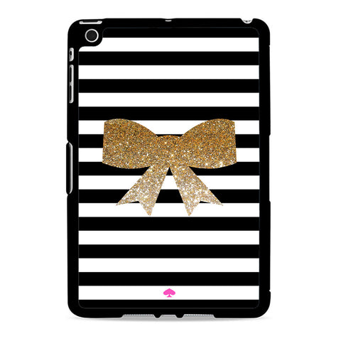 Kate Spade Inspired Bow Faux Glitter Ipad Mini 2 Case