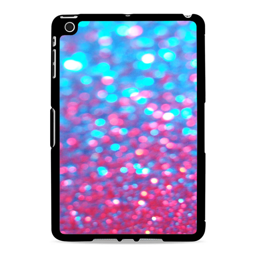 Sparkle Faux Glitter Water Blue Pink Ipad Mini 2 Case