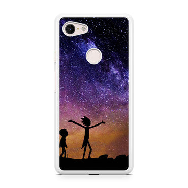 Rick And Morty Galaxy Google Pixel 3 / Google Pixel 3 XL case