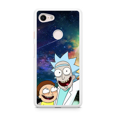 Rick And Morty Selfie Google Pixel 3 / Google Pixel 3 XL case